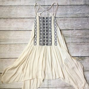 Boho Embroidered Tank {Abercrombie & Fitch}